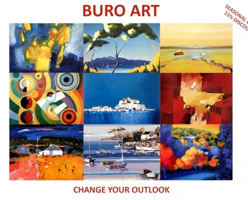 Buro Art Flyer with Seasonal Discount