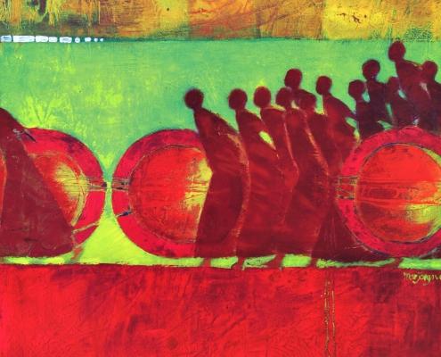 Marjolijn Van Ginkle - Painting Detail