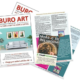 Morningside Messenger and Fairmile Directory feature Buro Art